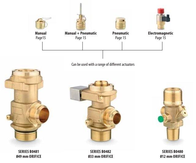 fm200 valves